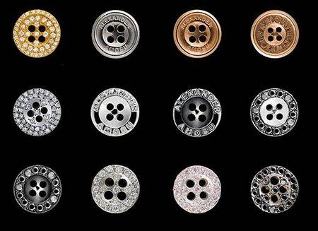 Los botones de Amosu, más que elegantes