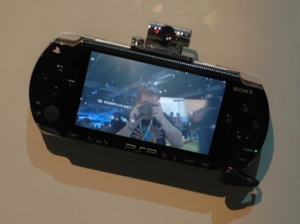 E3: cámara para la PSP
