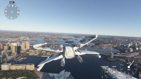La última locura de Microsoft Flight Simulator es volar con naves de Star Wars, Galactica y hasta el DeLorean de Regreso al Futuro