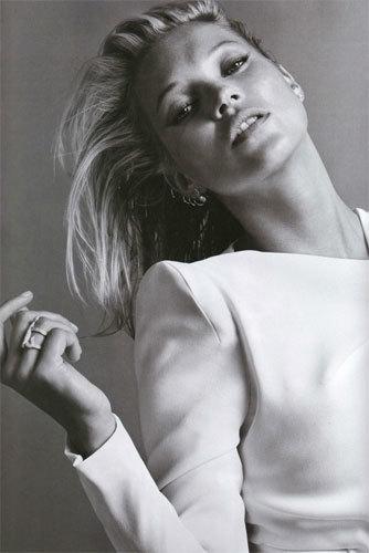 Foto de Kate Moss para Vogue París (1/10)