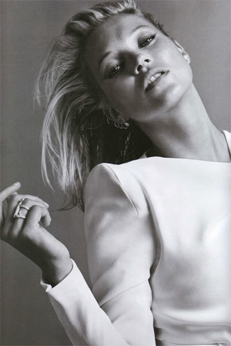 Kate Moss para Vogue París