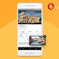 Opera para Android alcanza la versión 50 y se actualiza con reproducción de vídeo Picture in Picture