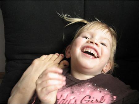 ¿Qué razones necesitas para hacer cosquillas a tus hijos?