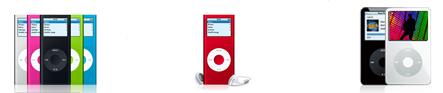 Videocast de los distintos modelos de iPod