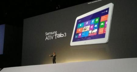 Samsung presenta el ATIV Tab 3