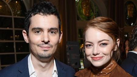 Damien Chazelle quiere a Emma Stone y a Brad Pitt en su próxima película, 'Babylon', sobre el Hollywood del cine mudo