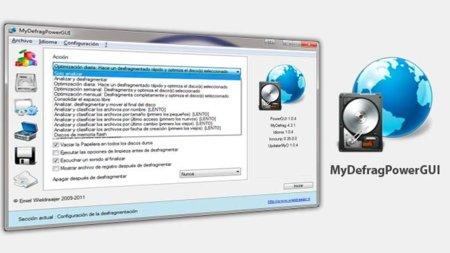 MyDefragPowerGUI un potente desfragmentador portable