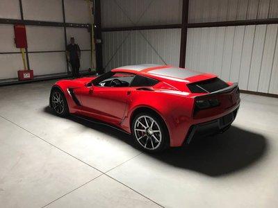 Callaway C7 AeroWagen, si querías un Corvette shooting brake ya no busques más
