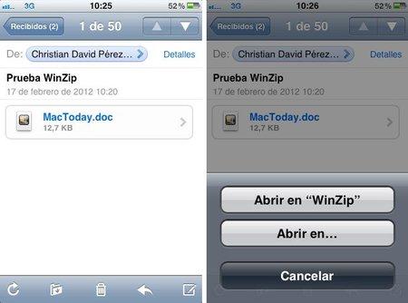 WinZip llega a iOS