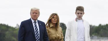 Melania Trump se adelanta al otoño con un vestido camisero marrón de lo más ideal