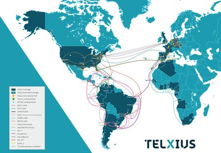 Cables submarinos de Telxius