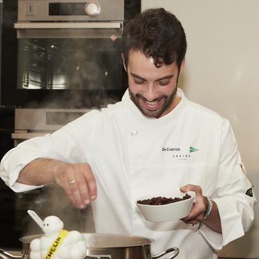 La alta cocina comienza en los ingredientes básicos: el chef Javier Aranda nos cuenta cómo es su proceso creativo
