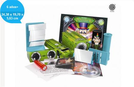 El maletín de 'Experimentos Deslumbrantes', para que los niños aprendan conceptos relacionados con la luz