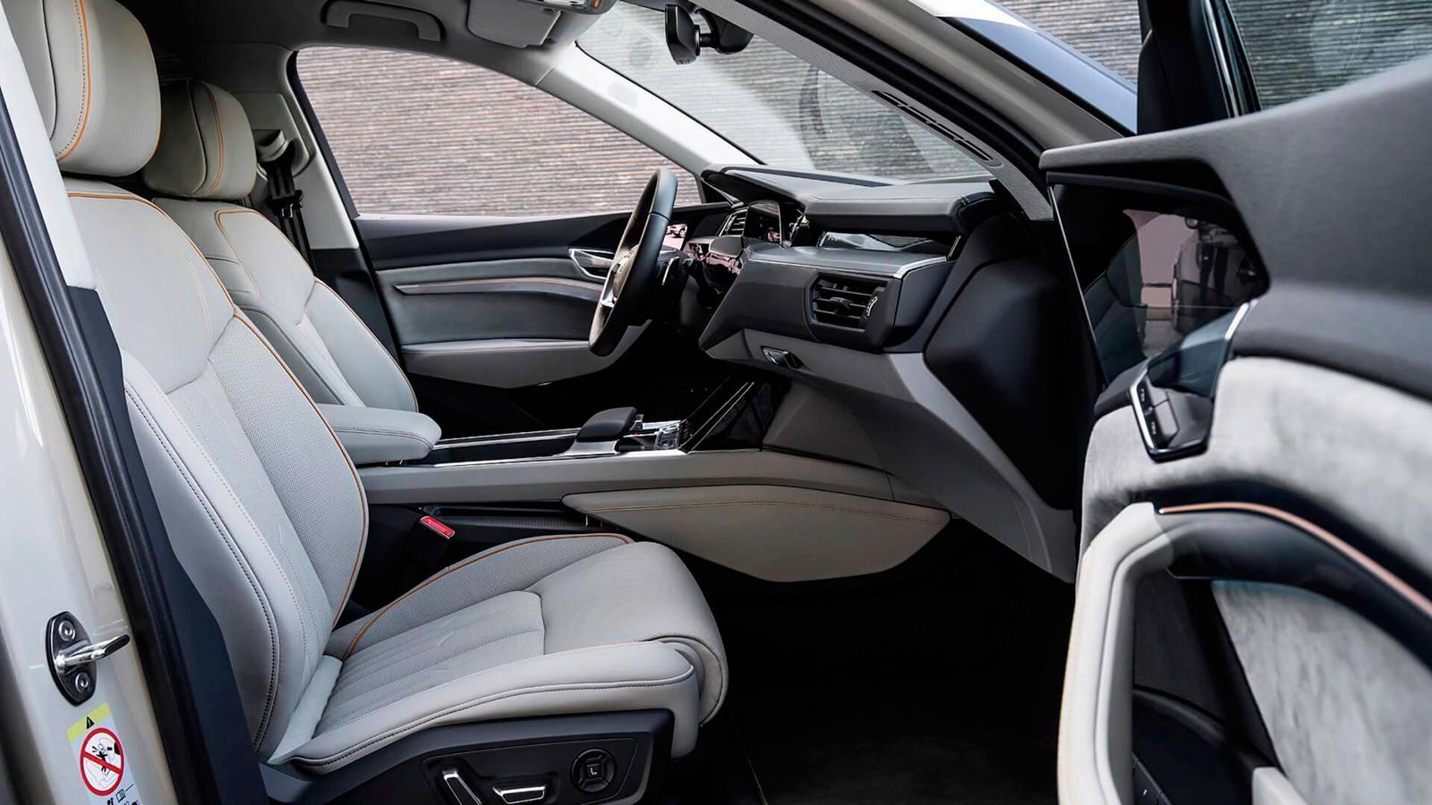 Foto de El habitáculo del Audi e-tron, al descubierto (13/19)