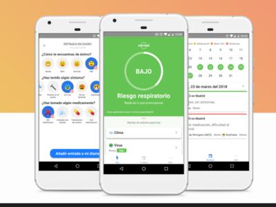 Zensei, una aplicación que nos ayuda a prevenir los problemas respiratorios