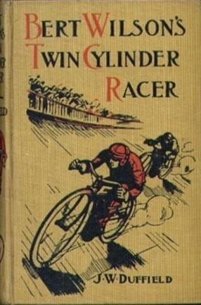 Bert Wilson's twin cilinder racer