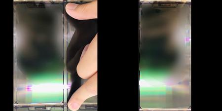 Supuesto panel iPhone 12