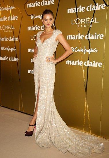 Irina Shayk y Cristiano Ronaldo se coronan como petardos en los Premios Marie Claire