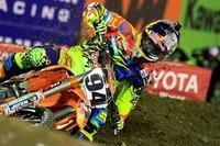 """El """"novato"""" Ken Roczen arranca venciendo la primera cita del mundial de Supercross"""