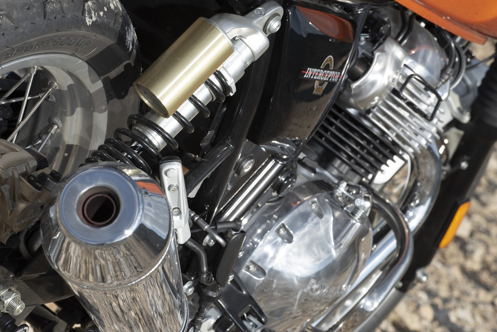 Foto de Royal Enfield Interceptor INT 650 2019, prueba (34/51)
