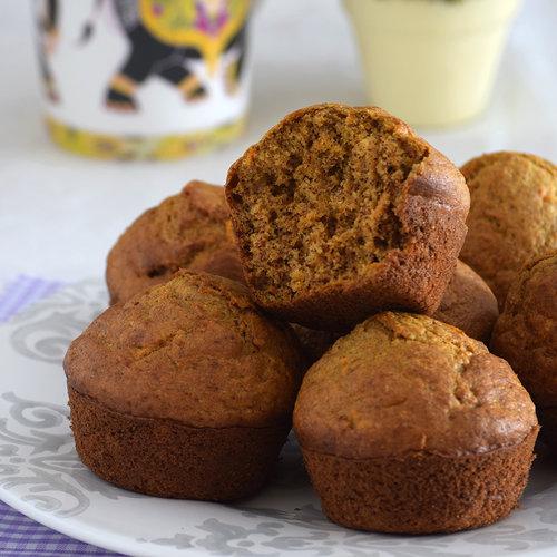 Muffins integrales de zanahoria y plátano: receta con y sin Magimix Cook Expert