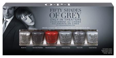 ¿Fanática de Christian Grey? No te podrás resistir a la nueva colección de OPI: 50 sombras de Grey