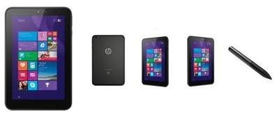 HP Pro Tablet 408, un nuevo tablet pequeño de HP con soporte para 3G y lápiz digital