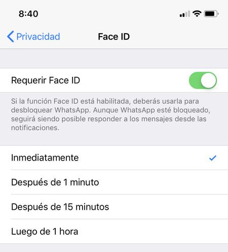 Como Activar Whatsapp Con Touch Id O Face Id