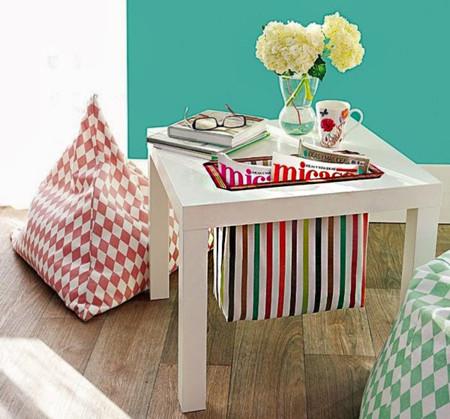 Ideas De Decoracion Con Muebles De Ikea.19 Ideas Para Hackear Tu Mesa Lack De Ikea Y Darle Nueva Vida