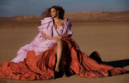 Estos son los lookazos que ha elegido Beyoncé para el videoclip de Spirit, la canción de El Rey León, y Valentino firma uno de ellos