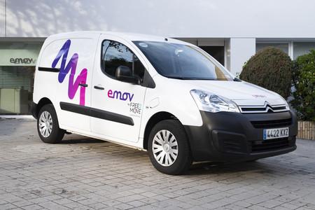 Free2move Emov furgón