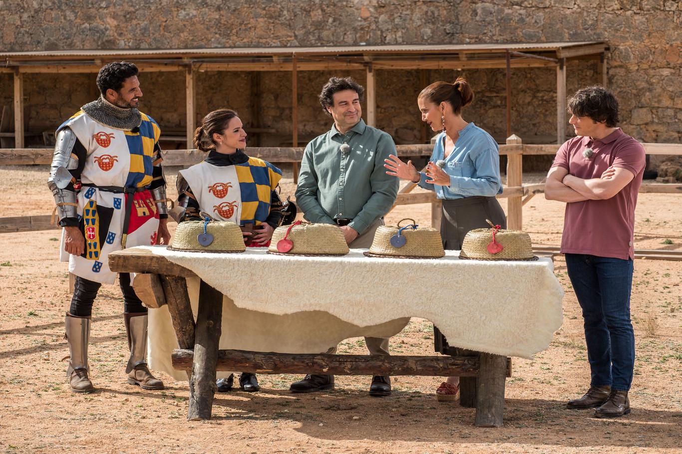 MasterChef Celebrity se va al mercado medieval (y los concursantes siguen viviendo en la barbarie...