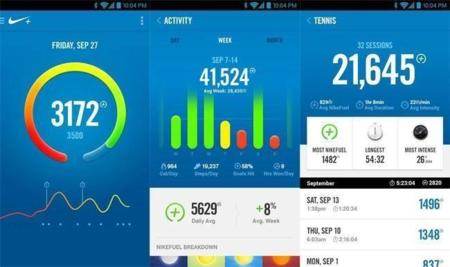 Nike+ FuelBand llega a Android