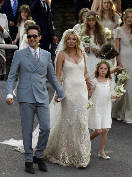 kate moss vestido novia
