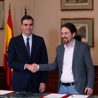 Qué apoyos y abstenciones necesitan Sánchez e Iglesias para el gobierno de PSOE y Podemos
