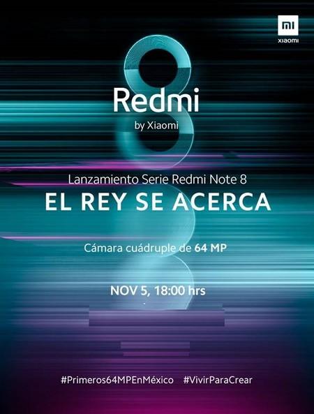 Xiaomi Redmi Note 8 Pro Mexico 5 Noviembre