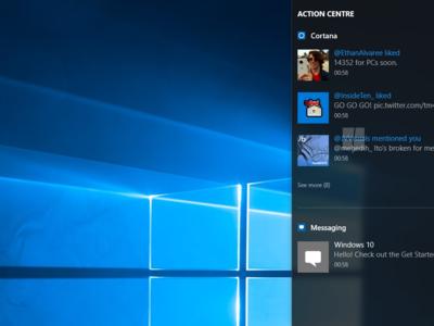 La sincronización de notificaciones entre dispositivos estaría a punto de aterrizar en Windows 10 Mobile