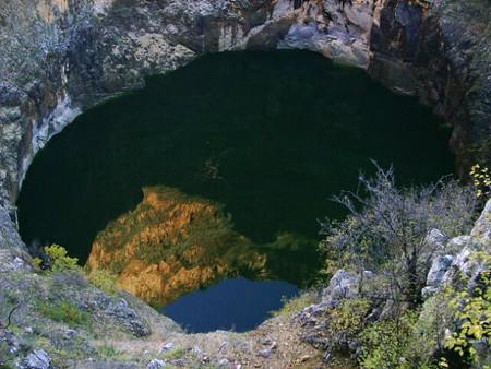 lago rojo de croacia