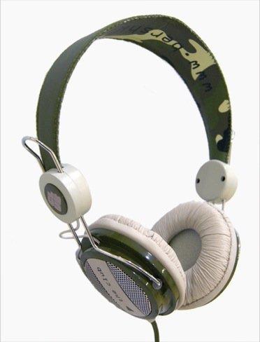 Bershka auriculares militar