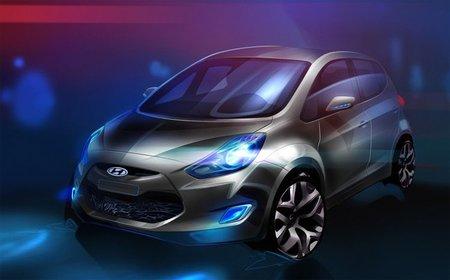 Hyundai ix20, primera imagen oficial