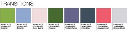 Pantone Color Of The Year 2017 Color Palette 1