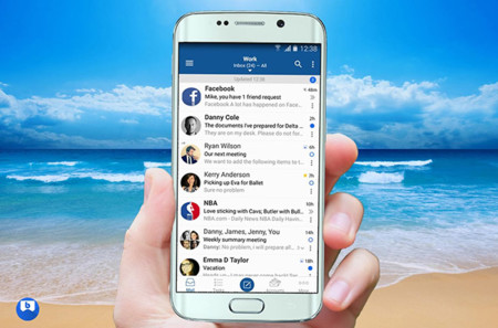 Apps Correo Bluemail