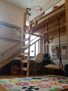 ¿Dormitorios infantiles cómodos, prácticos y que además permitan hacer ejercicio? Mira como sí que es posible