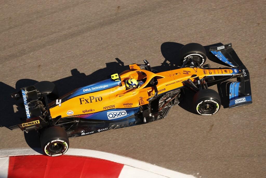 ¡Increíble! Lando Norris priva a Carlos Sainz de su primera pole position en la Fórmula 1 y Lewis Hamilton la lía