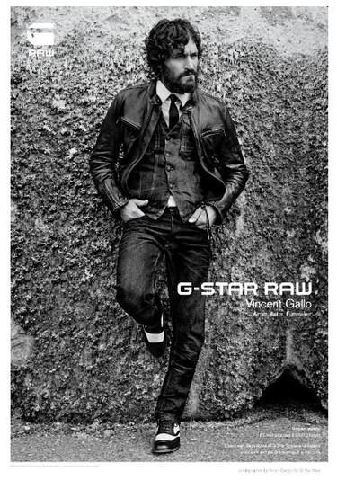 Vincent Gallo para G-Star Raw Otoño-Invierno 2011/2012