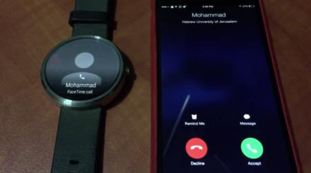 Un nuevo vídeo nos muestra como Android Wear recibe llamadas provenientes de un iPhone