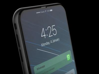 Este render filtrado podría ser del iPhone 8: bordes mínimos y una cámara vertical