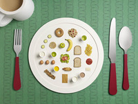 My Day On a Plate, un interesante proyecto de Michael Bodiam y Sarah Parker