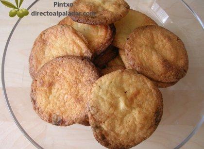 Cookies crujientes de chocolate blanco. Receta