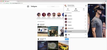 Con esta extensión para Chrome puedes ver las historias de Instagram de forma anónima
